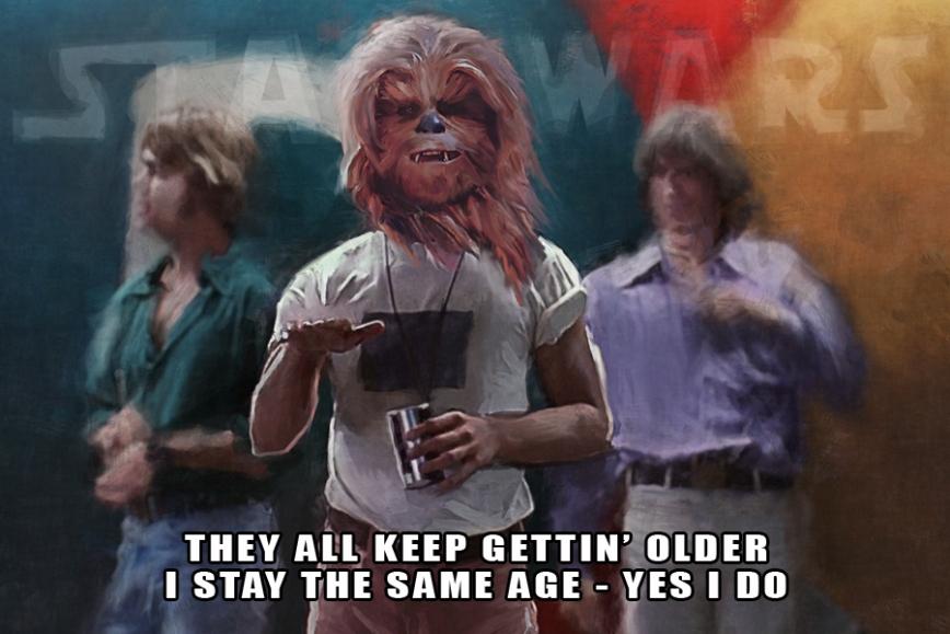 Chewie Meme