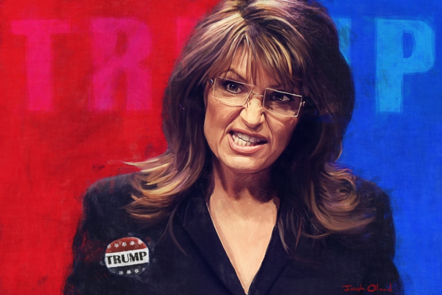 Palin Trump post