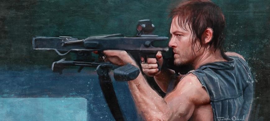 Daryl Dixon post