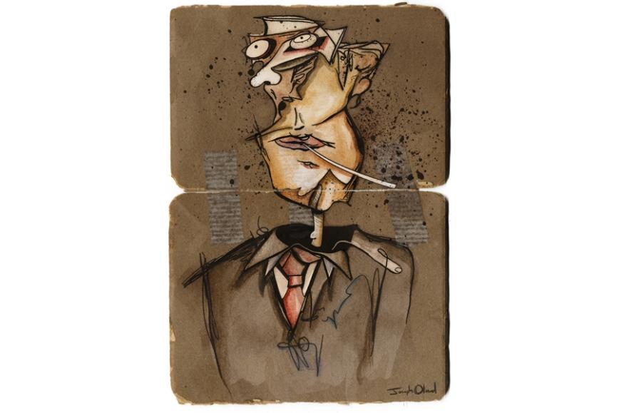 Dissociative Self Portrait post