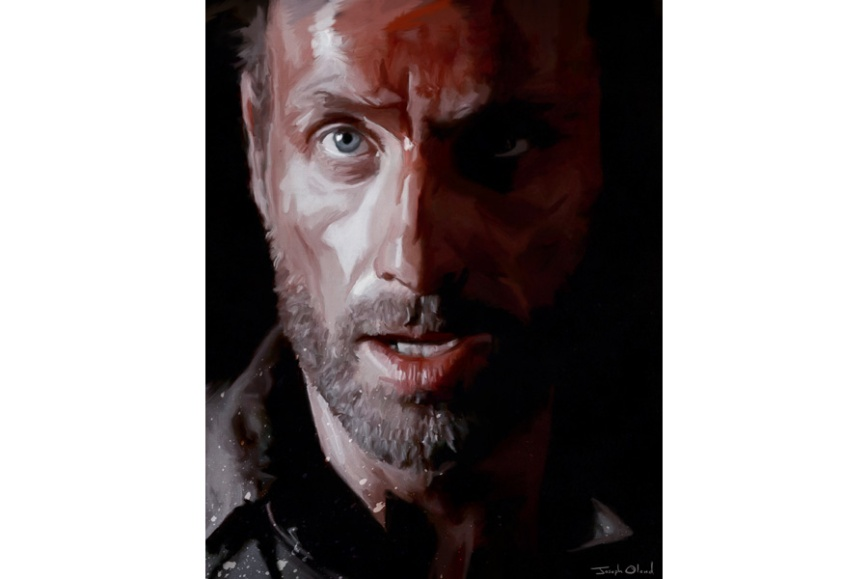 Rick Grimes Portrait post