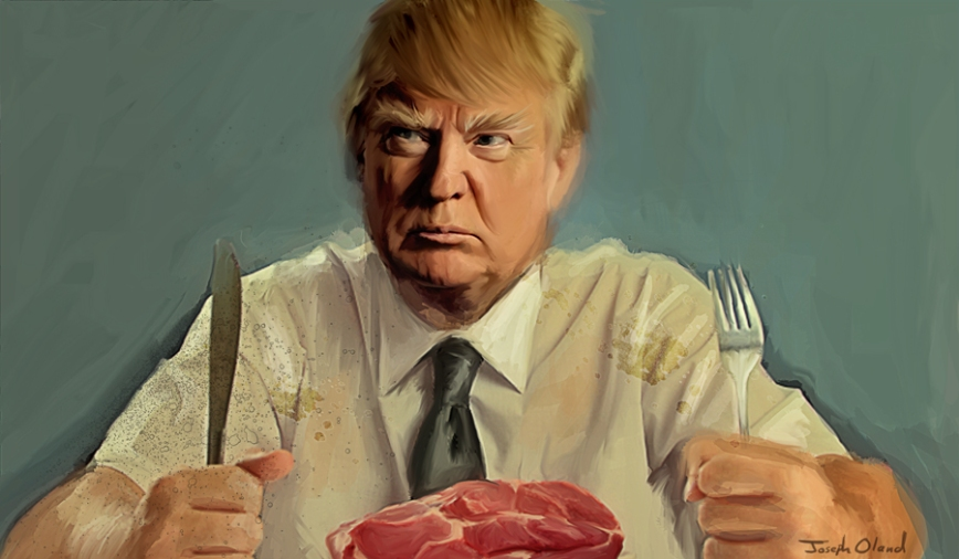 Trump Steak post