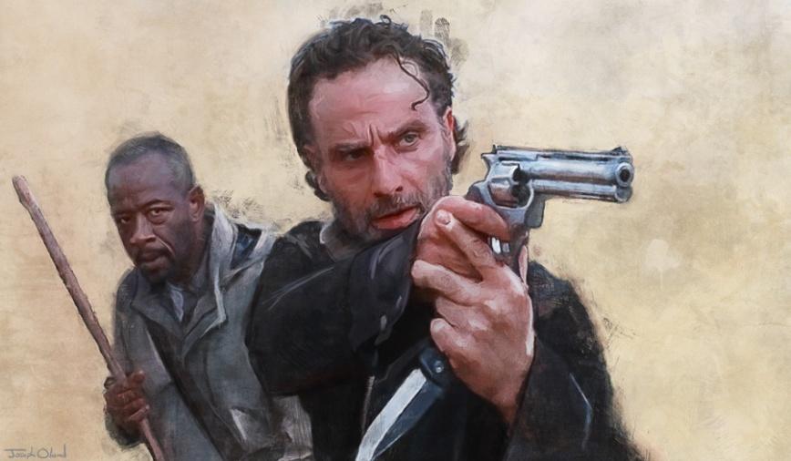 Rick and Morgan post